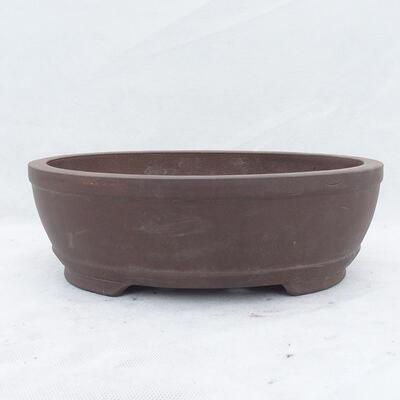 Miska Bonsai 31 x 22 x 10 cm, kolor szary - 1