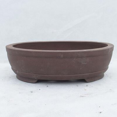 Miska Bonsai 26 x 19 x 7,5 cm, kolor szary - 1
