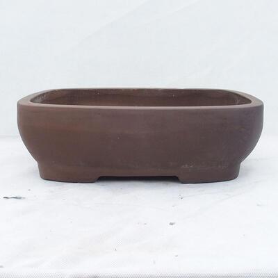Miska Bonsai 39 x 29 x 12 cm, kolor szary - 1