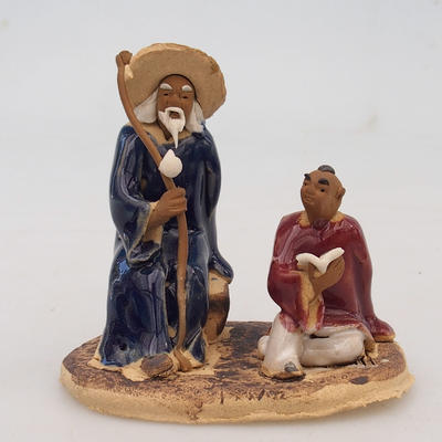 Figurka ceramiczna - dwóch mędrców - 1