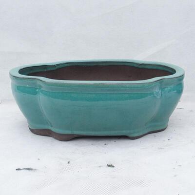 Miska Bonsai 41 x 33 x 15 cm, kolor zielony - 1