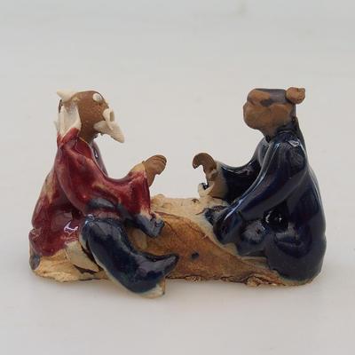 Figurka ceramiczna - para graczy - 1
