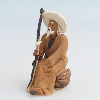 Figurka ceramiczna - szałwia - 1