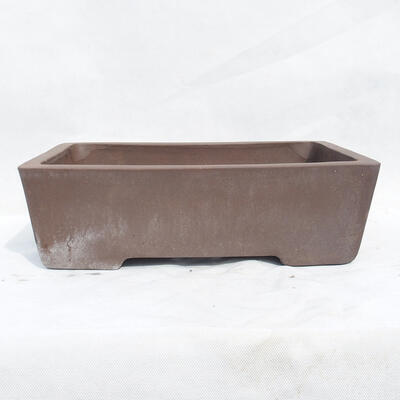 Miska Bonsai 41 x 29 x 12 cm, kolor szary - 1