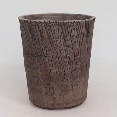 Ceramiczna miska bonsai 15 x 15 x 17,5 cm, kolor spękany - 1
