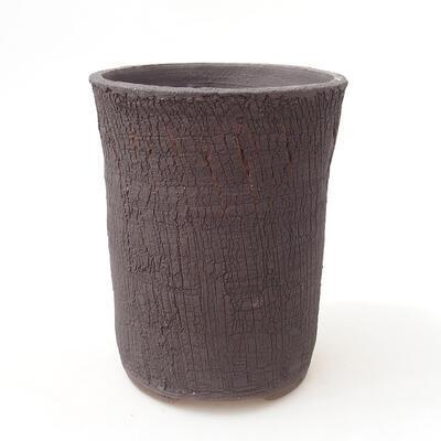Ceramiczna miska bonsai 12 x 12 x 16 cm, kolor spękany - 1