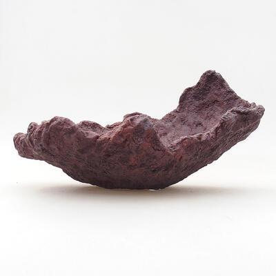 Ceramiczna skorupa 21 x 16 x 13 cm, kolor szary - 1