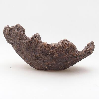 Ceramiczna skorupa 18 x 16 x 12 cm, kolor szary - 1