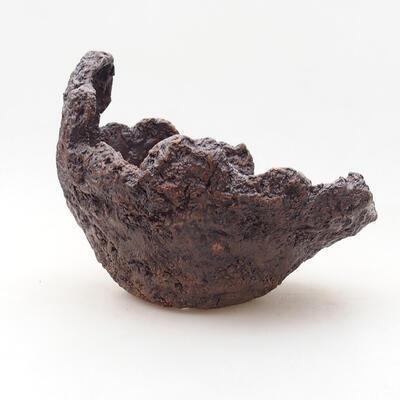 Ceramiczna skorupa 17 x 15 x 15 cm, kolor szary - 1