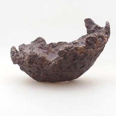 Ceramiczna skorupa 17 x 15 x 13 cm, kolor szary - 1
