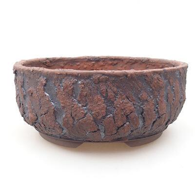 Ceramiczna miska bonsai 18 x 18 x 7,5 cm, kolor spękany - 1