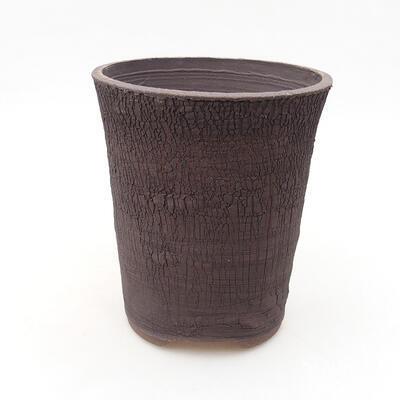 Ceramiczna miska bonsai 13,5 x 13,5 x 15,5 cm, kolor spękany - 1