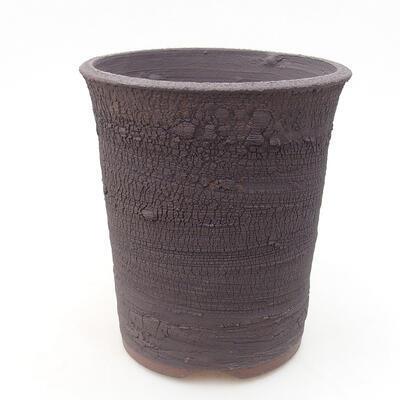 Ceramiczna miska bonsai 13,5 x 13,5 x 15 cm, kolor spękany - 1