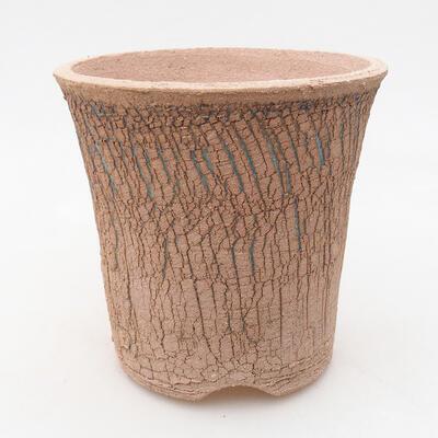 Ceramiczna miska bonsai 13 x 13 x 13 cm, kolor spękany - 1