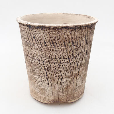 Ceramiczna miska bonsai 14 x 14 x 14,5 cm, kolor spękany - 1