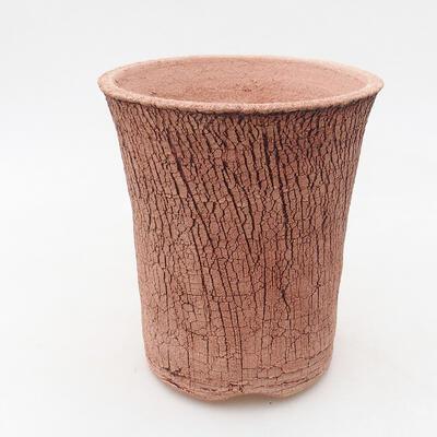 Ceramiczna miska bonsai 12 x 12 x 14 cm, kolor spękany - 1