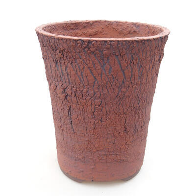 Ceramiczna miska bonsai 14,5 x 14,5 x 17 cm, kolor spękany - 1