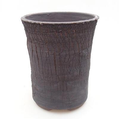 Ceramiczna miska bonsai 14 x 14 x 17 cm, kolor spękany - 1