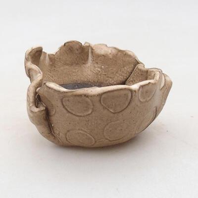 Powłoka ceramiczna 8 x 7 x 5 cm, kolor beżowy - 1