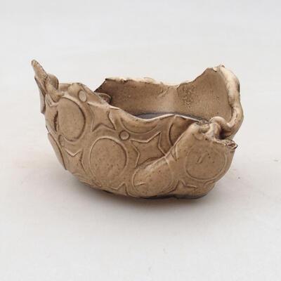 Powłoka ceramiczna 6,5 x 7 x 5 cm, kolor beżowy - 1