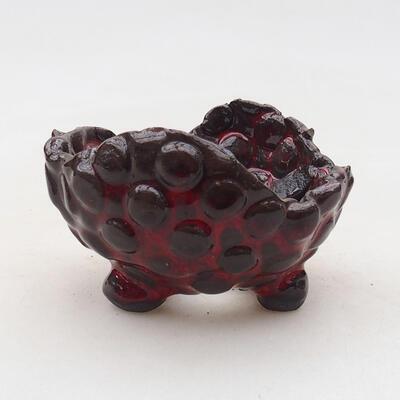 Powłoka ceramiczna 7 x 7 x 5,5 cm, kolor czerwony - 1