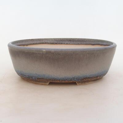 Miska Bonsai 22,5 x 17,5 x 7 cm, kolor szary - 1