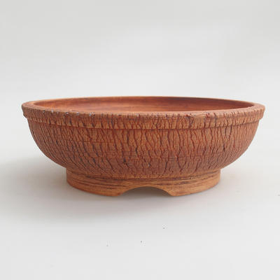Ceramiczna miska bonsai - wypalana w piecu gazowym 1240 ° C - 1