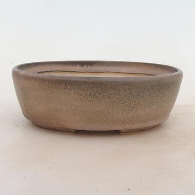 Miska Bonsai 18 x 13 x 6 cm, kolor szary - 1