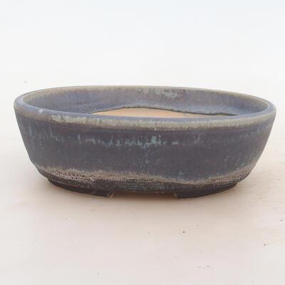 Miska Bonsai 18 x 13 x 6 cm, kolor niebieski - 1