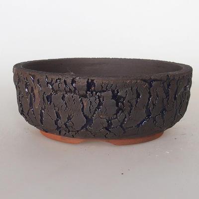 Ceramiczna miska bonsai 15,5 x 15,5 x 6 cm, popękany kolor - 1