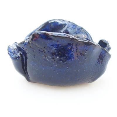 Ceramiczna powłoka 7,5 x 7 x 5 cm, kolor niebieski - 1