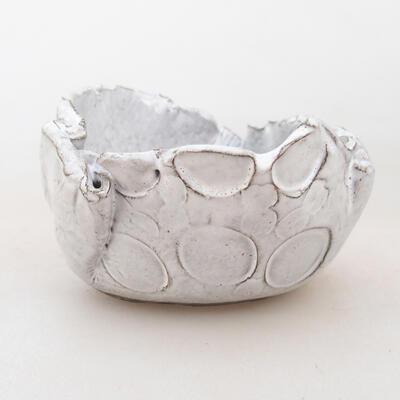 Powłoka ceramiczna 7 x 7 x 5 cm, kolor biały - 1