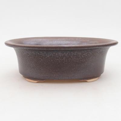Ceramiczna miska bonsai 19 x 16 x 6,5 cm, kolor niebieski - 1