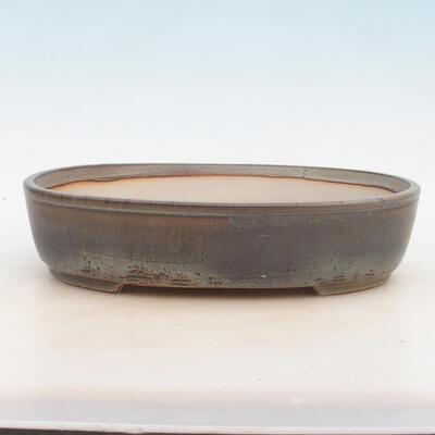 Miska Bonsai 30,5 x 22,5 x 7,5 cm, kolor szary - 1