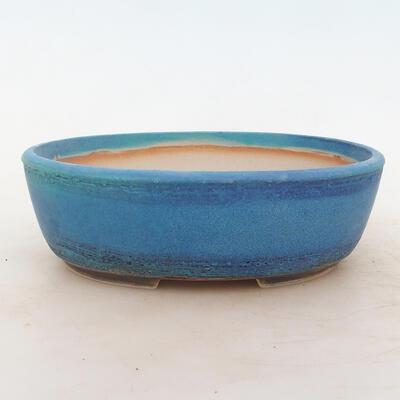 Miska Bonsai 22 x 17 x 7 cm, kolor niebieski - 1