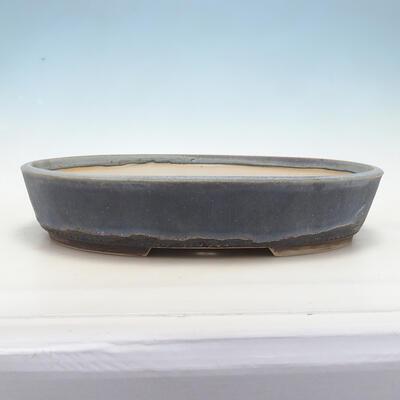 Miska Bonsai 43 x 33,5 x 8,5 cm, kolor niebiesko-szary - 1