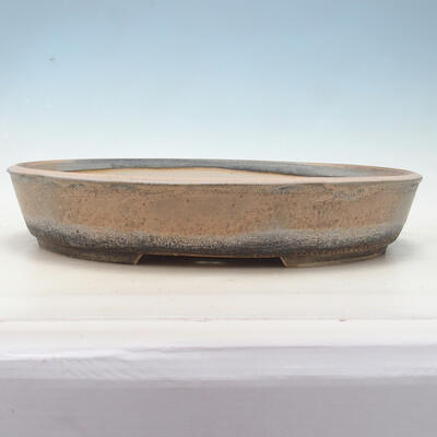 Miska Bonsai 45 x 35,5 x 8,5 cm, kolor beżowo-szary - 1