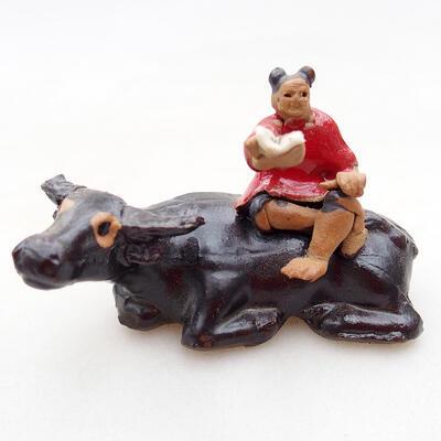 Figurka ceramiczna - Krowa D1-1 - 1