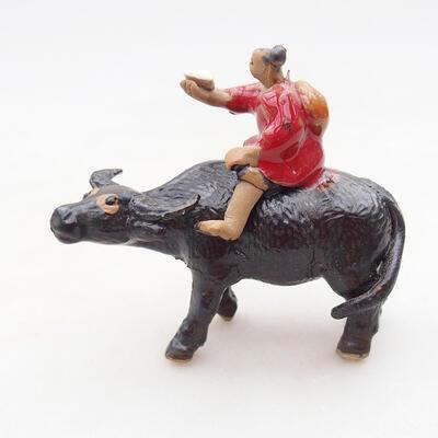Figurka ceramiczna - Krowa D3-1 - 1