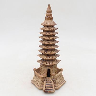 Figurka ceramiczna - Pagoda F15-1 - 1