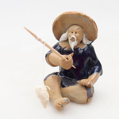 Figurka ceramiczna - Rybak F25 - 1