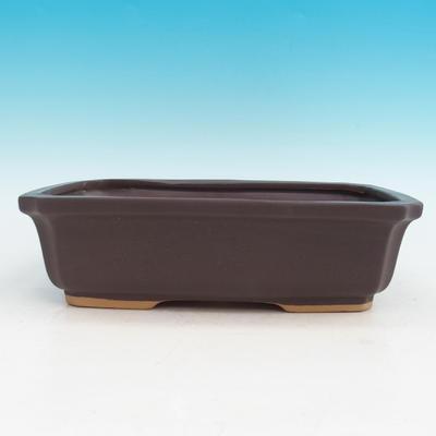 Ceramiczna miska bonsai H 07 - 30 x 21,5 x 8,5 cm - 1