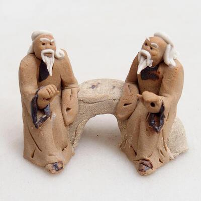 Figurka ceramiczna - Stick figure H17 - 1