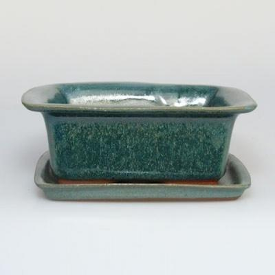 Miska Bonsai H11 - 11 x 9,5 x 4,5 cm, 11 x 9,5 x 1 cm - 1