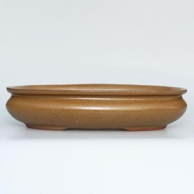 Ceramiczna miska bonsai H 15 - 26,5 x 17 x 6 cm - 1