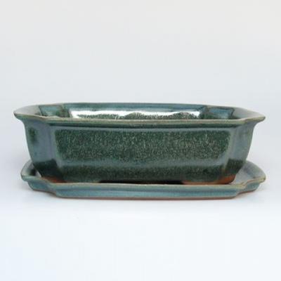 Taca miska Bonsai H03 - 16,5 x 11,5 x 5 cm, taca 16,5 x 11,5 x 1 cm - 1