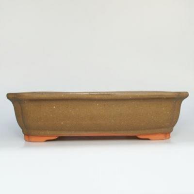 Ceramiczna miska bonsai H 20 - 26,5 x 21 x 7,5 cm - 1