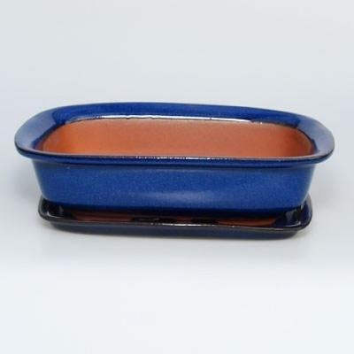 Miska Bonsai + taca H02 - taca 19 x 13,5 x 5 cm, taca 17 x 12 x 1 cm - 1