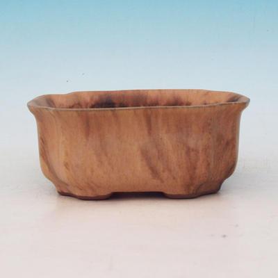 Ceramiczna miska bonsai H 01 - 12 x 9 x 5 cm - 2