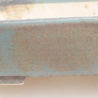 Ceramiczna miska bonsai 17 x 14 x 4,5 cm, kolor niebieski - 2